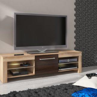 TV stolek FLEX, dub sonoma/dub sonoma tmavý