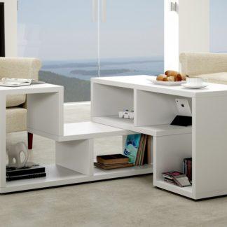 Konferenční stolek TOP, bílá