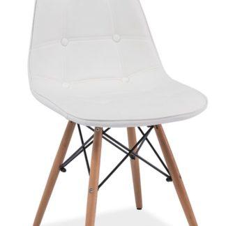 Jídelní židle AXEL, bílá