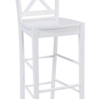Barová židle CD-964, bílá
