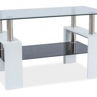 Konferenční stolek LISA III, bílý lak