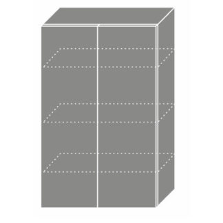 PLATINUM, skříňka horní W4 60, korpus: grey, barva: camel