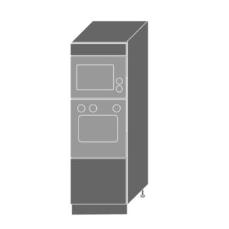 PLATINUM, skříň pro vestavbu D5AM/60/154, korpus: grey, barva: black stripes