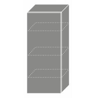 PLATINUM, skříňka horní W4 40, korpus: bílý, barva: black