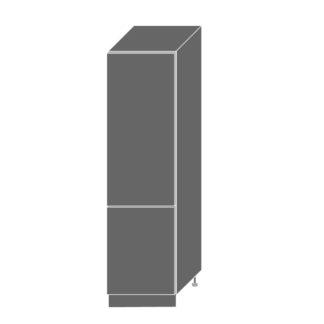 SILVER+, skříňka pro vestavnou lednici D14DL 60, korpus: bílý, barva: latte