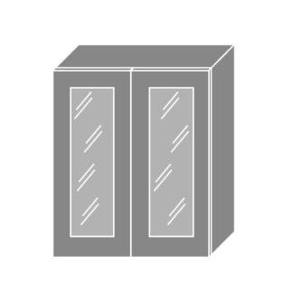 GOLD LUX, skříňka horní prosklená W3s 60, korpus: jersey, barva: dub pestka