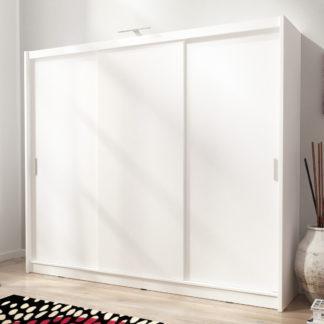 Skříň WIKI I 250 cm, bílá