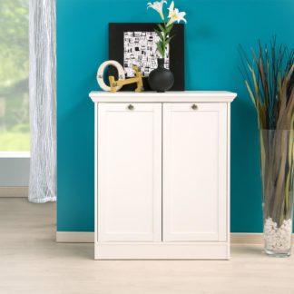 Prádelník 2 dveře LANDWOOD 2T, bílý