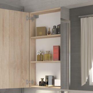 Koupelnová skříňka DELLA 80 cm, dub sonoma