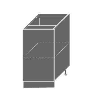 EMPORIUM, skříňka dolní D1D 45, korpus: grey, barva: light grey stone