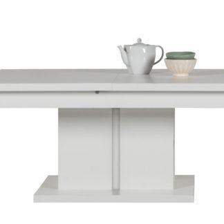 IM12 - Rozkládací konferenční stolek IRMA IM12, bílý vysoký lesk