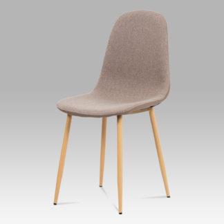 Jídelní židle CT-391 CAP2, cappuccino/buk