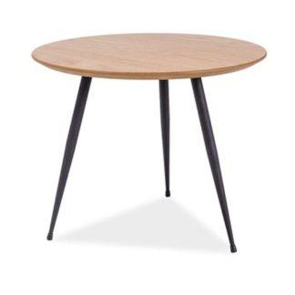 Konferenční stolek LUCCA B, dub/černá