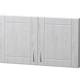 ADELA horní skříňka H 100, korpus bílý/dvířka pino aurelio