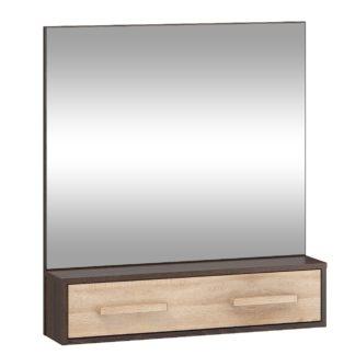 Zrcadlo RIO 10, dub sonoma tmavý/dub sonoma