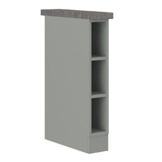 BIANKA, skříňka dolní 15 D OTW BB, šedá