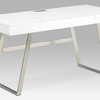 Kancelářský stůl 140x60 APC-601 WT, bílý mat