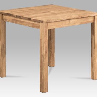 Jídelní stůl 80x80 T-2080 OAK, dub masiv