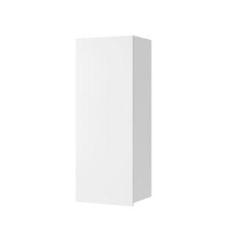 CALABRINI vysoká závěsná skříňka, bílá