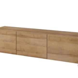 Televizní stolek RTV 150 CALABRINI, dub zlatý