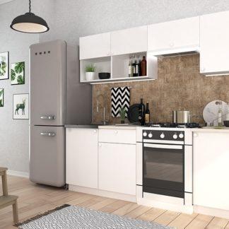 Kuchyně EKO I 210 cm bílá