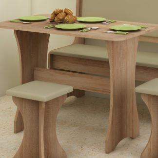 Stůl do kuchyňské sestavy, dub sonoma