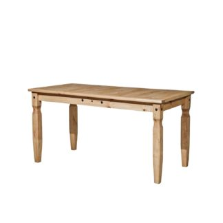 Jídelní stůl CORONA 152x92, masiv borovice, vosk