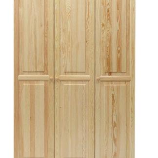 Skříň 3D/133 nr.2, masiv borovice, moření: ...