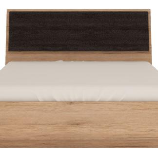SUMMER, postel 140x200, typ 91, san remo světlé, čal.ekokůže