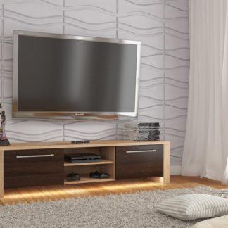 TV stolek HELIX NEW, dub sonoma/dub sonoma tmavý