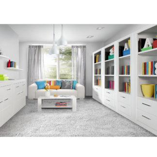 SNOW, obývací pokoj, bílá - vzorová sestava