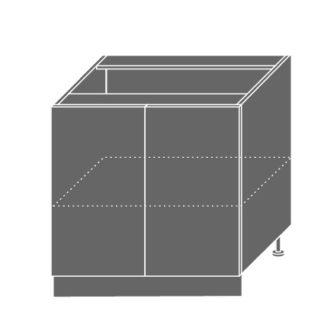 PLATINUM, skříňka dolní D11 80, korpus: jersey, barva: vanilla