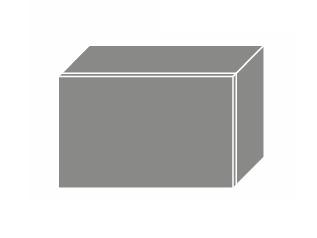 PLATINUM, skříňka horní W4b 50, korpus: lava, barva: rose red