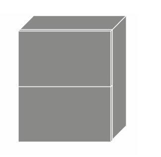 PLATINUM, skříňka horní W8B 60 AV, korpus: bílý, barva: camel
