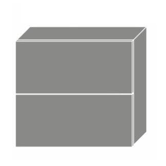 PLATINUM, skříňka horní W8B 80 AV, korpus: grey, barva: rose red