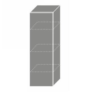 PLATINUM, skříňka horní W4 30, korpus: bílý, barva: camel