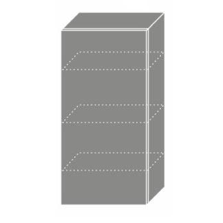 PLATINUM, skříňka horní W4 50, korpus: bílý, barva: black