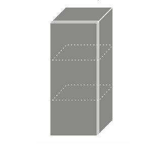 PLATINUM, skříňka horní W2 30, korpus: lava, barva: vanilla