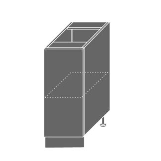 SILVER+, skříňka dolní D1d 30, korpus: bílý, barva: black pine