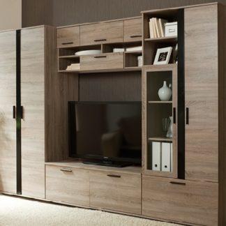 ENTER obývací stěna, dub truflový