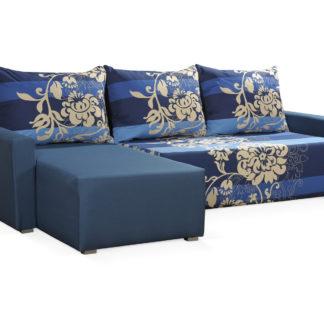 Rohová sedačka ESPANA BIS 7, modrá