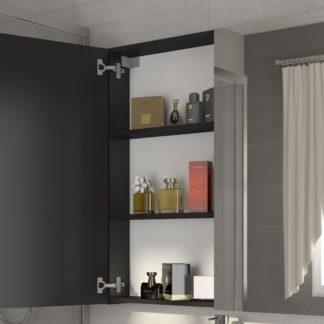 Koupelnová skříňka DELLA 80 cm, černá