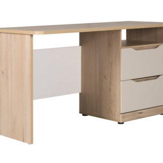 SMARTY SM-01 psací stůl, buk/bílá/champagne