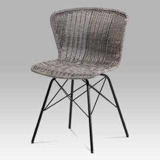 Jídelní židle SF-825 GREY, šedá