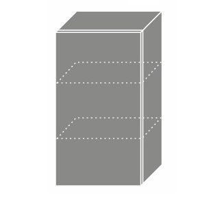 EMPORIUM, skříňka horní W2 40, korpus: grey, barva: grey stone