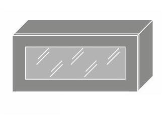 EMPORIUM, skříňka horní prosklená W4bs 80 WKF, korpus: bílý, barva: white