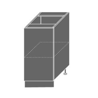 EMPORIUM, skříňka dolní D1D 40, korpus: bílý, barva: light grey stone