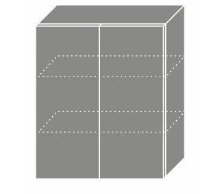 EMPORIUM, skříňka horní W3 60, korpus: jersey, barva: light grey stone