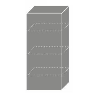 EMPORIUM, skříňka horní W4 45, korpus: grey, barva: light grey stone
