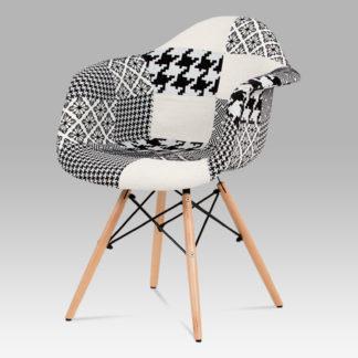 Jídelní židle CT-756 PW2, patchwork/masiv buk